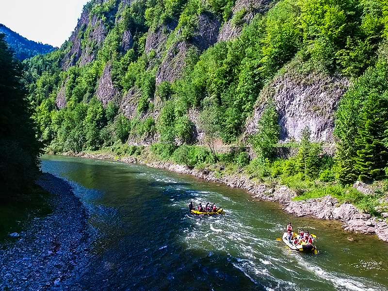 Rafting Dunajcem Pieniny