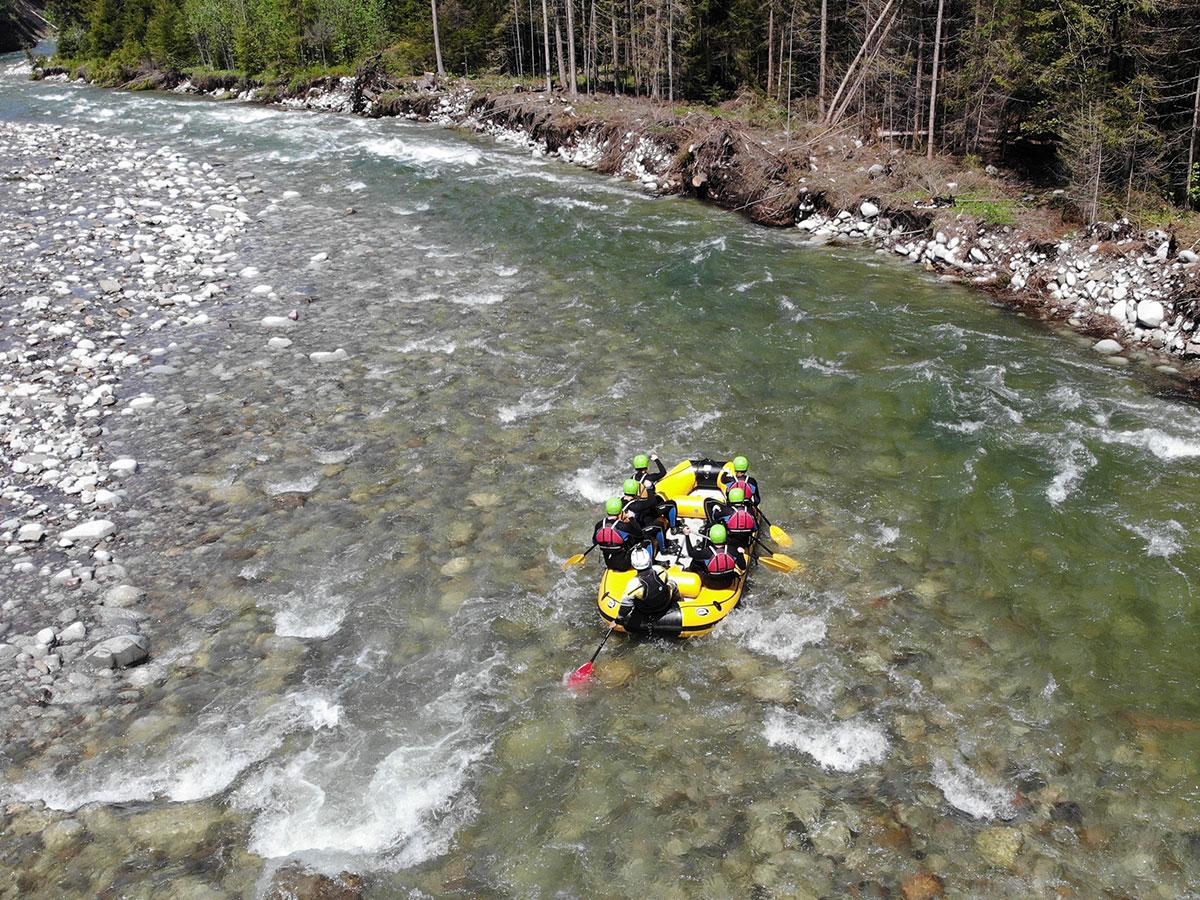 Rafting - Białka river