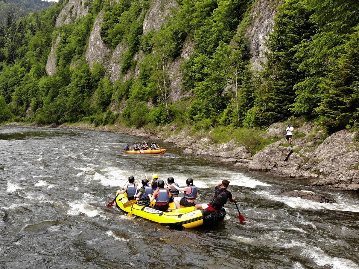 Rafting Dunajec sromowce niżne