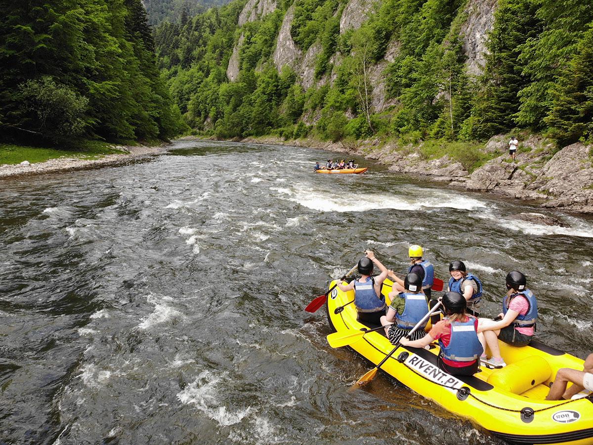 Przełom Dunajca - rafting