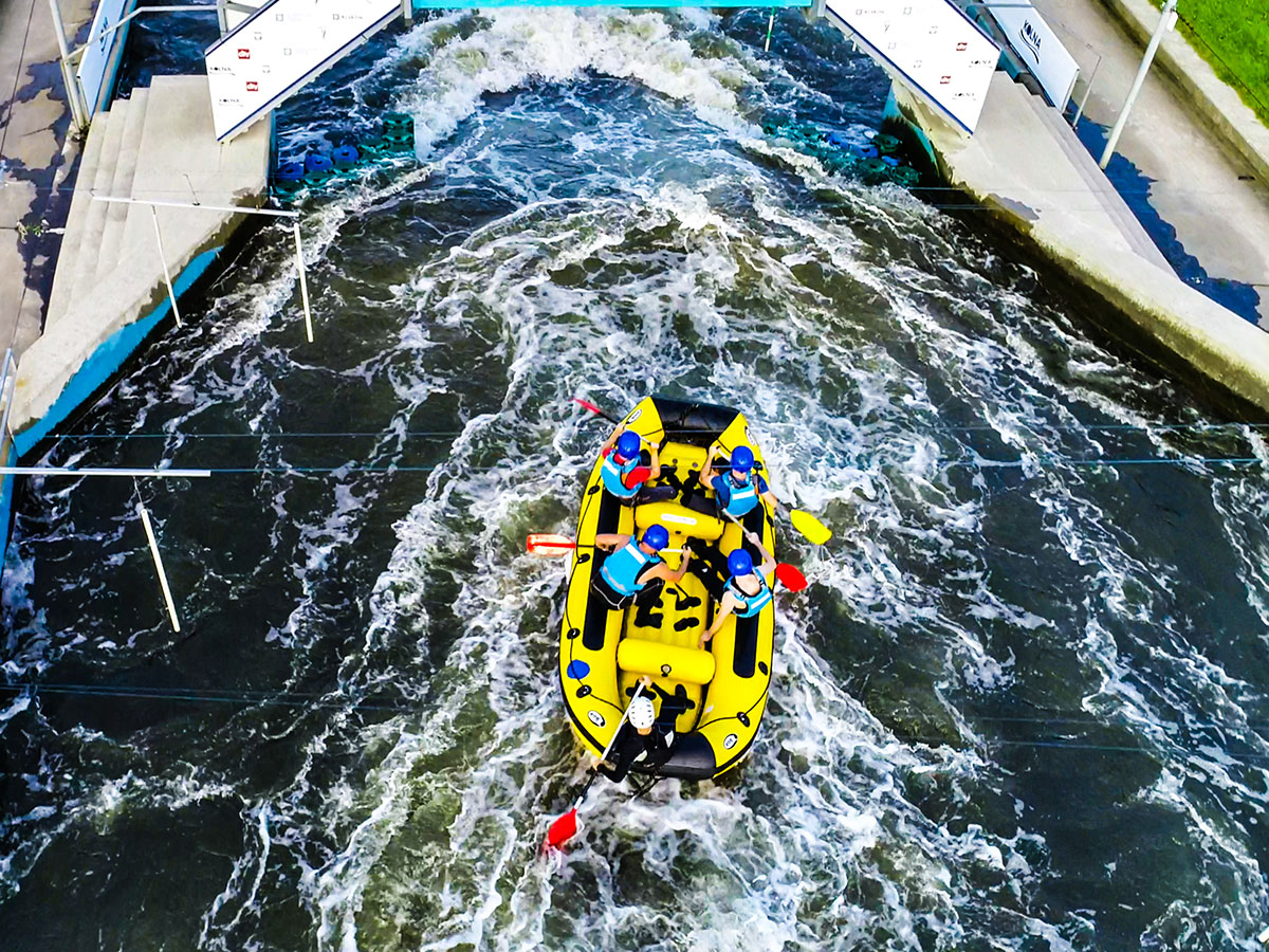 Rafting in Cracow