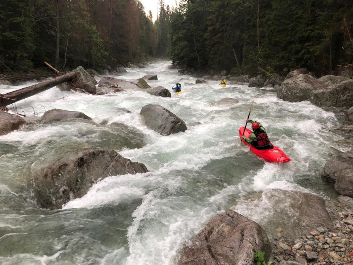 Kayaking on the Białka