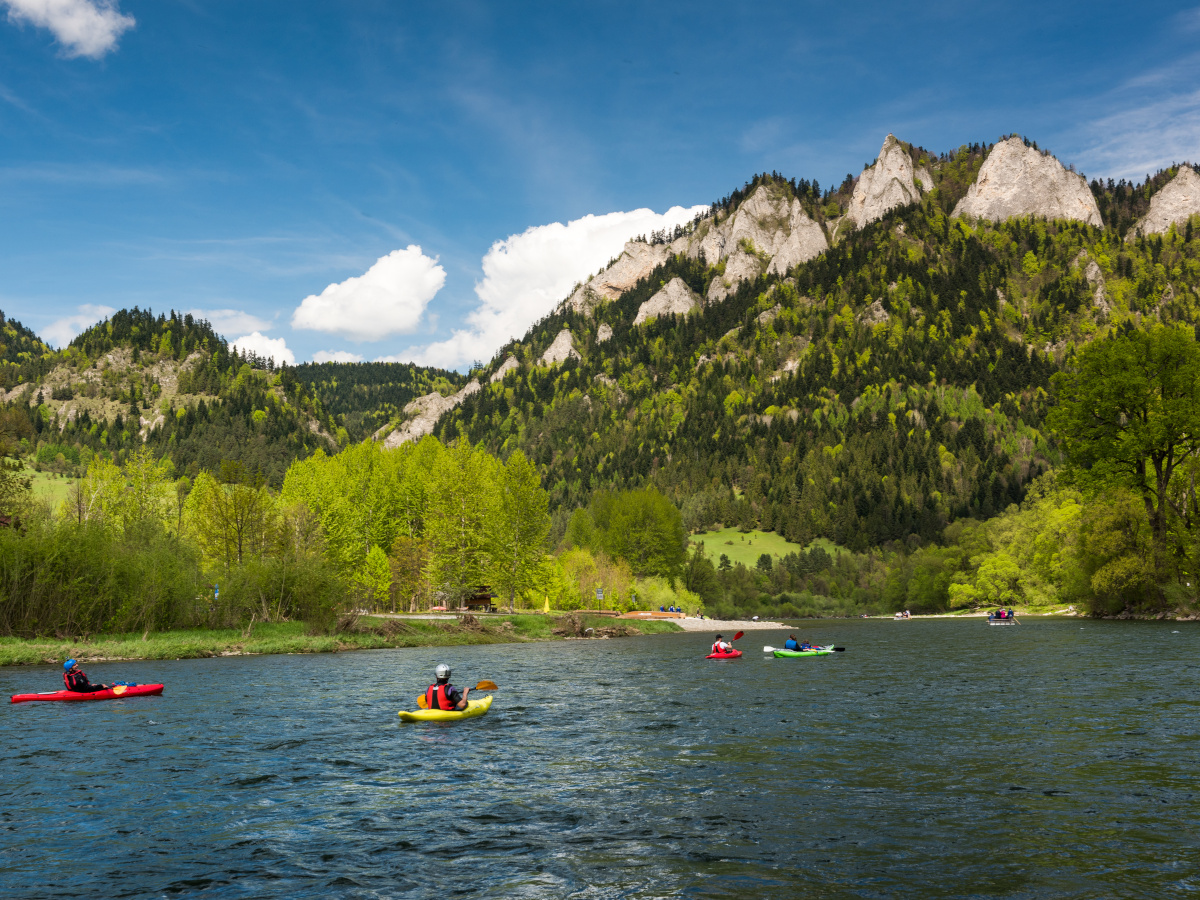 Dunajec river Kayaking trip