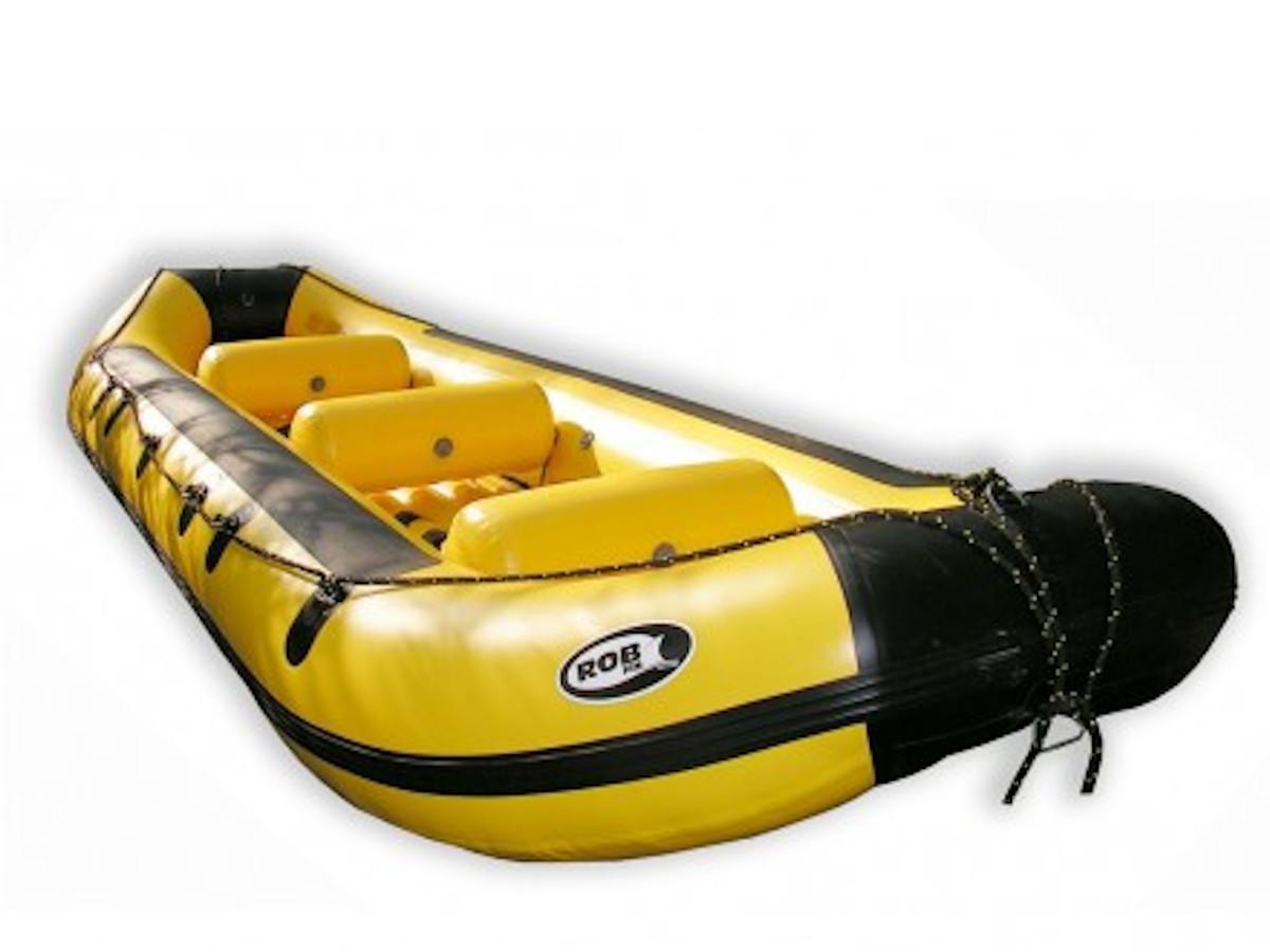 Pontoon Hobit 500 Robfin - Spływ pontonami