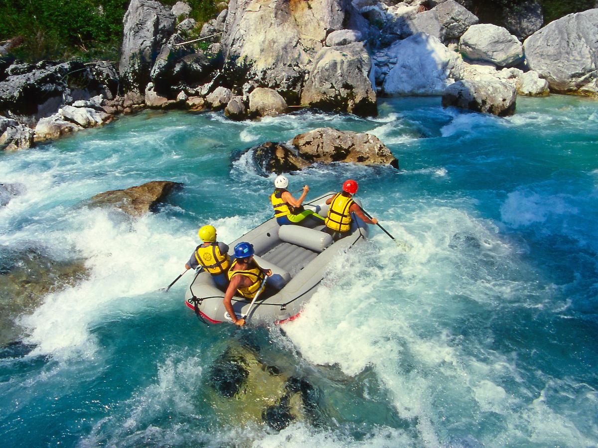 rafting wyjazdy_Słowenia