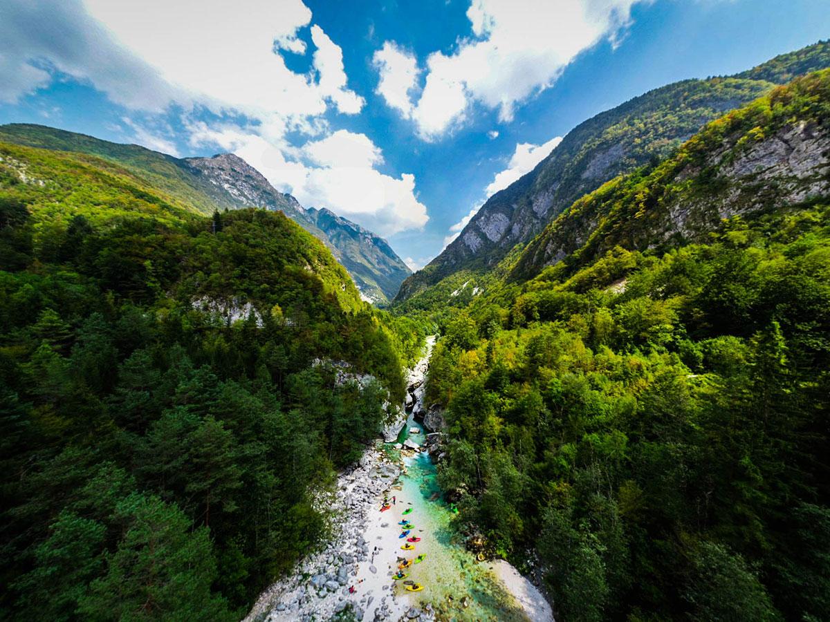 Kurs Kajakarstwa Górskiego - Słowenia
