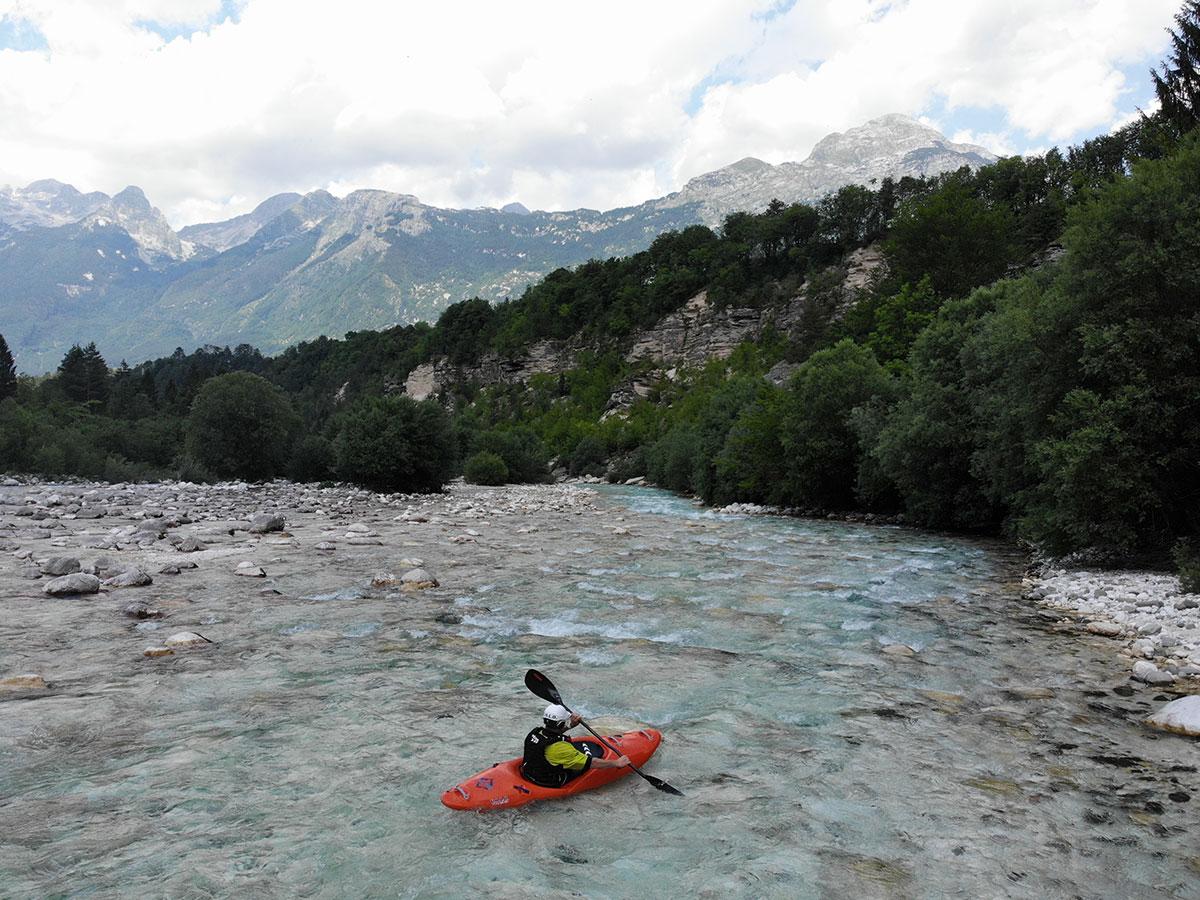 white water kayak course - Slovenia