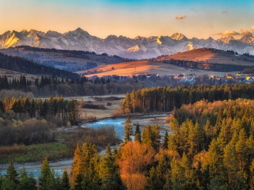 Białka rzeka w Tatrach