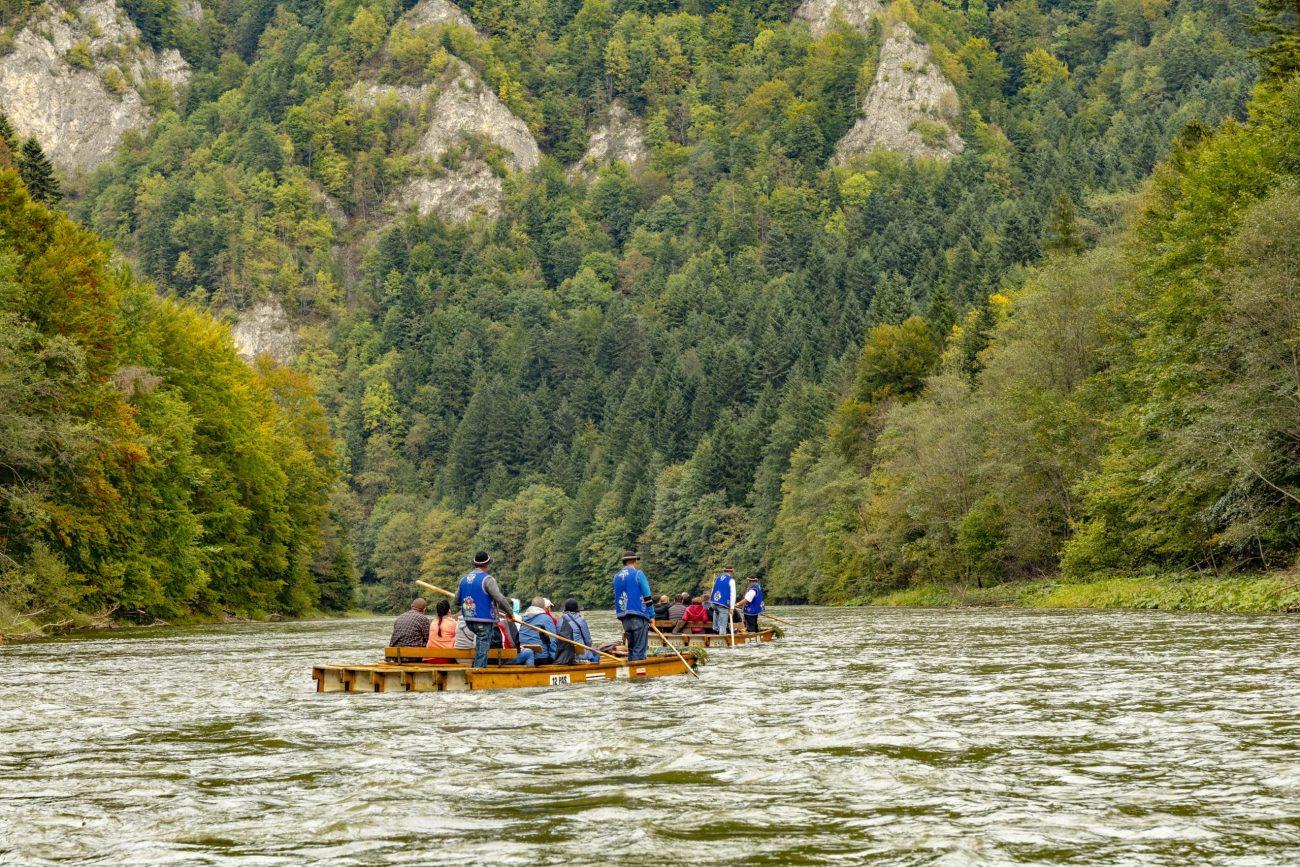 Spływ Dunajcem -przełom