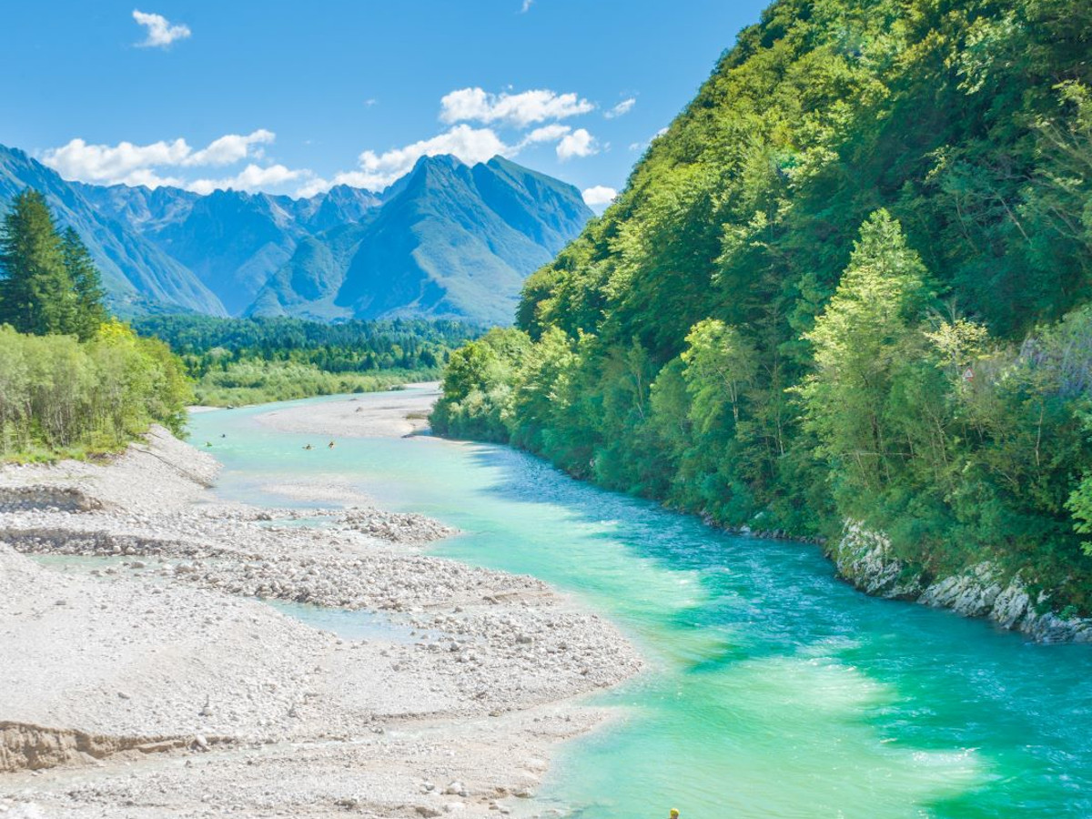 Rafting Słowenia
