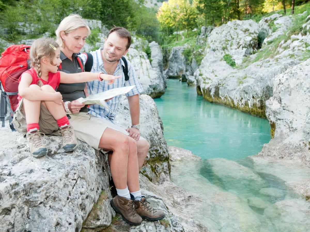 Rafting w Słowenii - Wycieczka po Słowenii