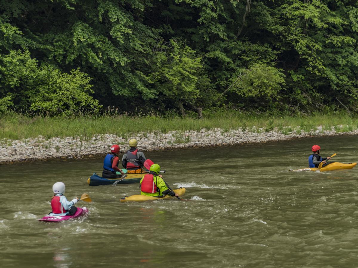 Kayaking Szczawnica