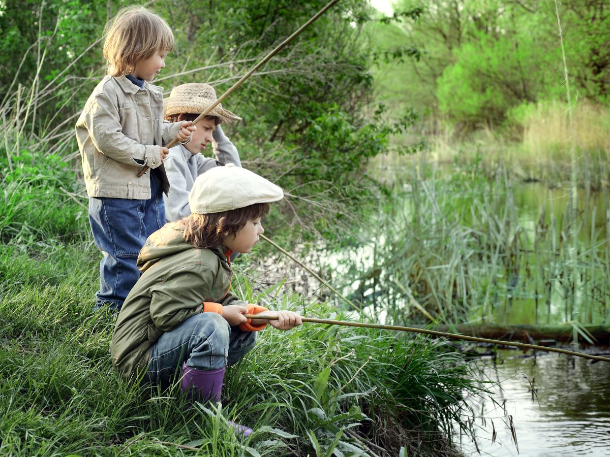 Zabawa w łowienie ryb